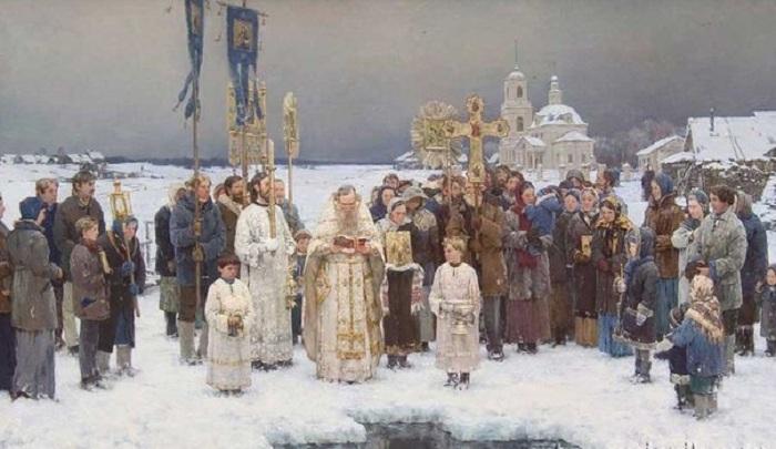 Антон Овсяников. Крещение.