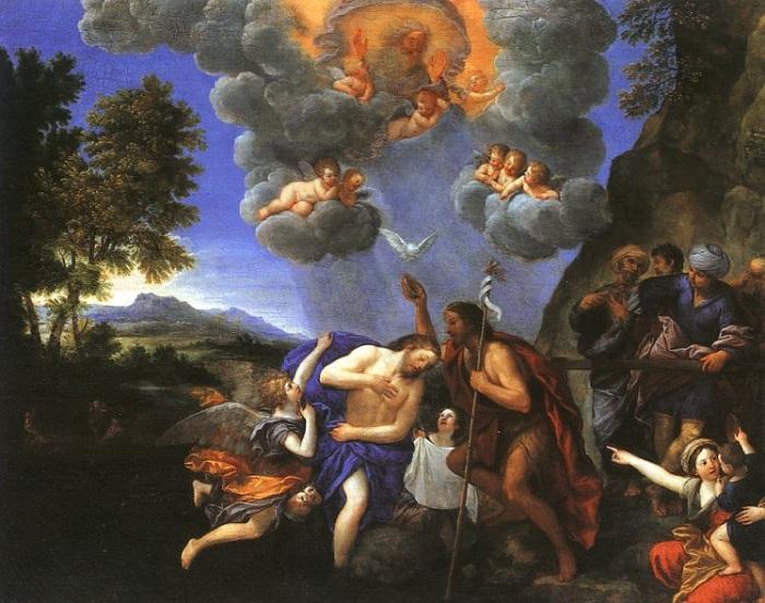 Альбани (1578 -1660). Крещение Христа.