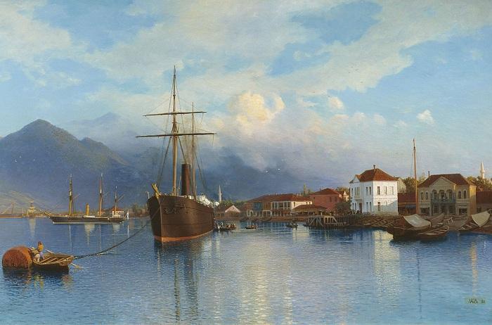 «Батум». (1881). Оренбургский музей изобразительных искусств. Автор: Л. Ф. Лагорио.