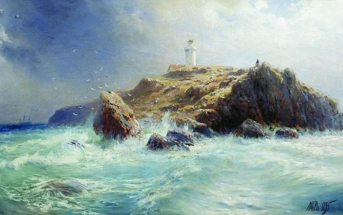 Маяк. (1895). Автор: Лагорио Лев Феликсович.