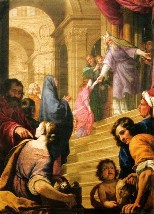 Альфонсо Боши. Введение Марии во храм. XVII век.