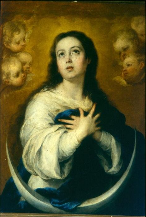 Непорочное Зачатие Девы Марии.(1652). Автор: Бартоломе Эстебан Мурильо.