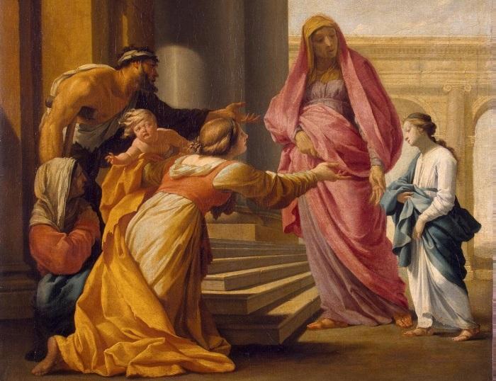 Эсташ Лесюер. Введение Марии во храм. 1640-1645