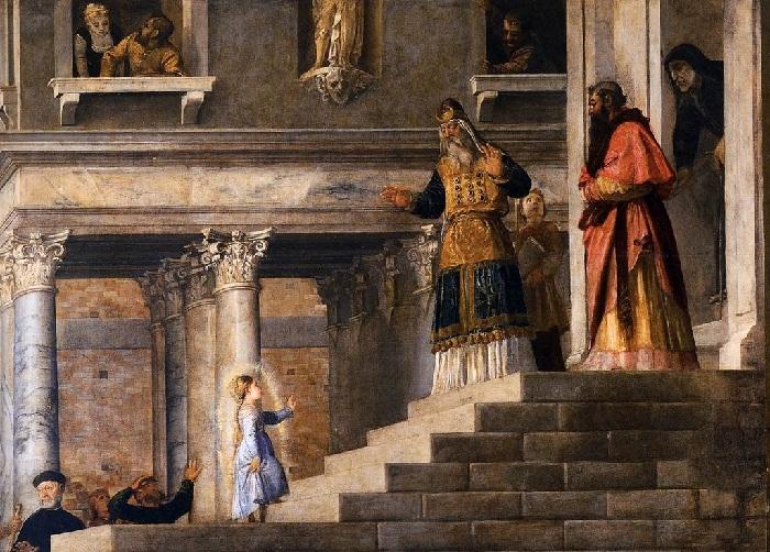 Тициан Вечеллио. (1534—1538). Венеция. Фрагмент.