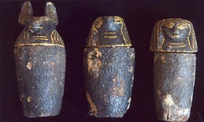 Древний Египет. Канопы раннего царства.