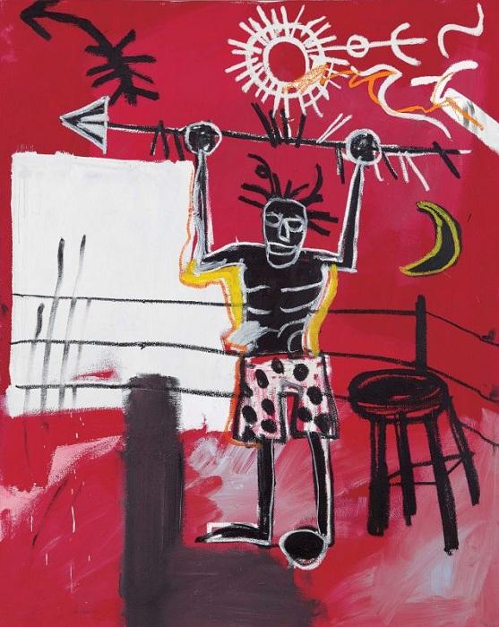 Ринг. (1981). Автор: Жан-Мишель Баския.