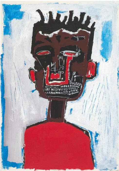 Автопортрет. (1984). Автор: Жан-Мишель Баския.