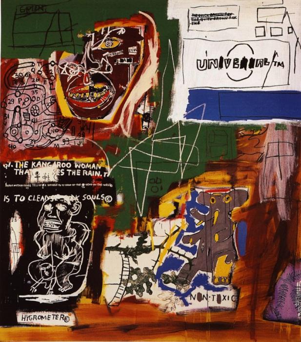 Сиенна. (1984). Автор: Жан-Мишель Баския.