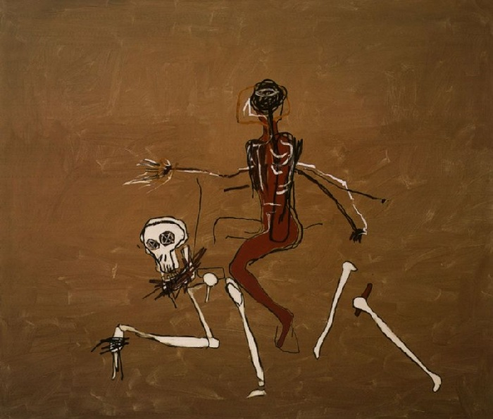 «Верхом на смерти».Автор: Жан-Мишель Баския.