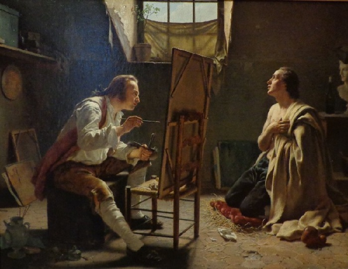 Автор: Jean-Alphonse Roehn (1799-1864). Франция.