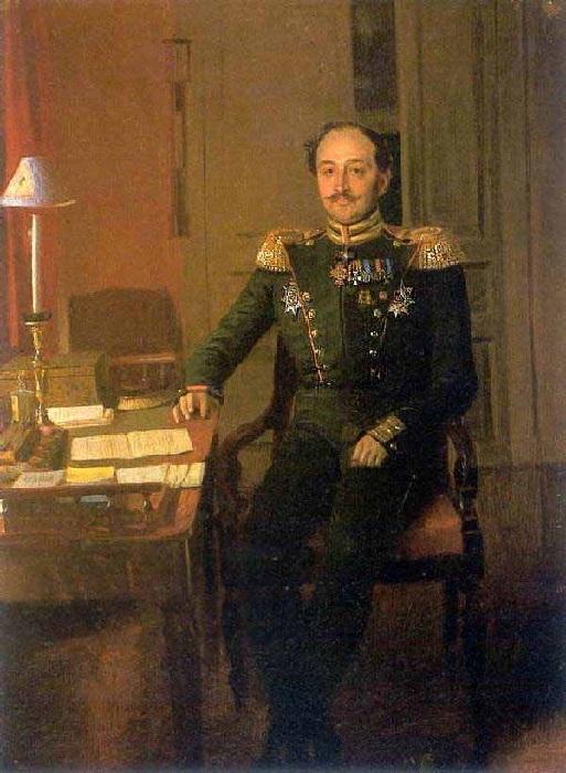 «Портрет С.С.Крылова». Автор: П. Федотов.