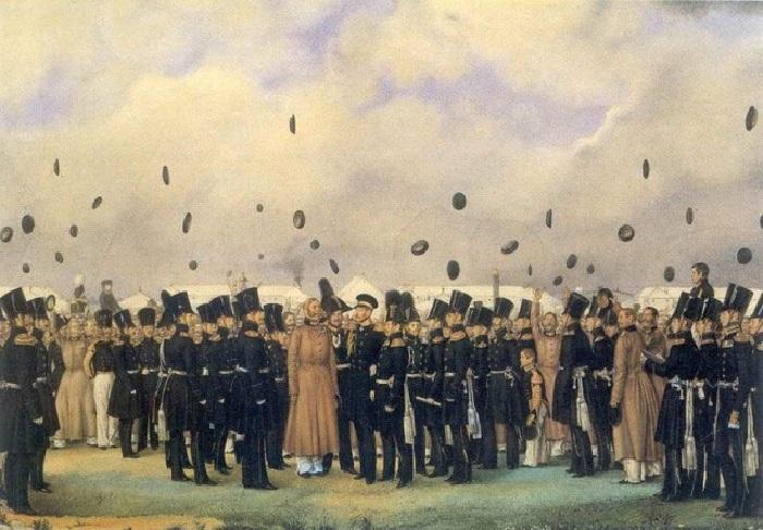 «Встреча великого князя». Автор: П. Федотов.