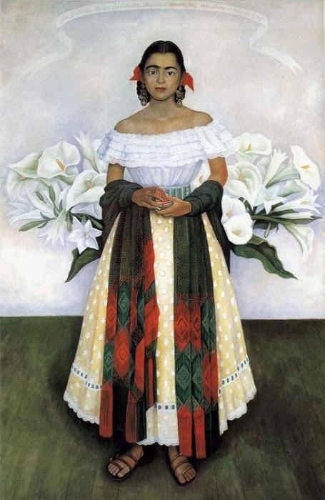 Фрида Кало. Автор: Диего Ривера.