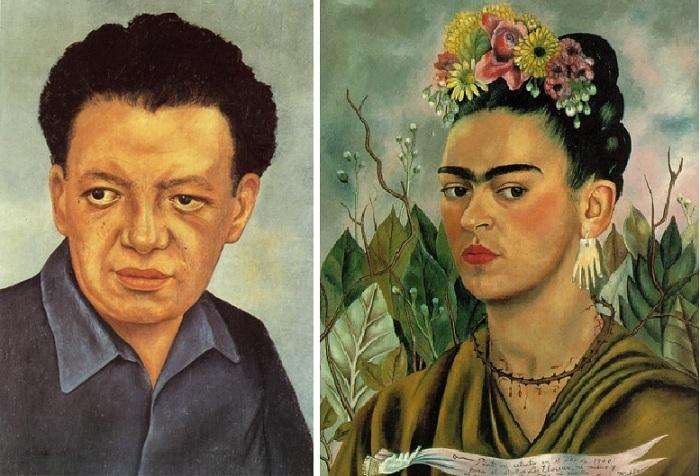 Диего Ривера. /Фрида Кало.