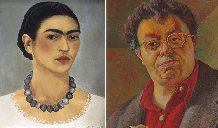 Фрида Кало. / Диего Ривера.