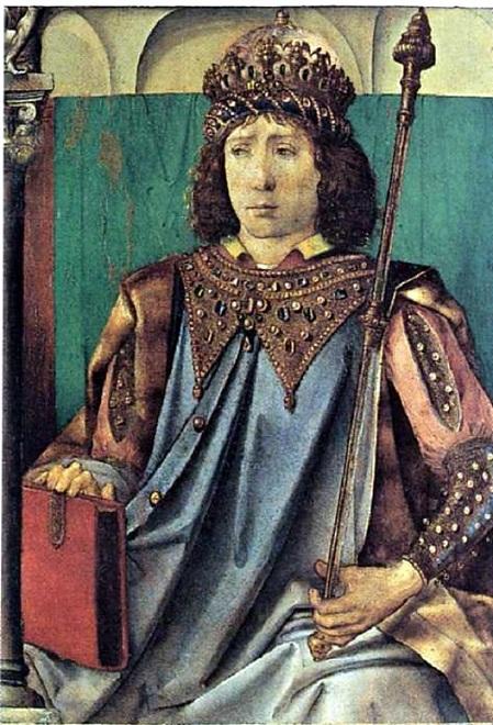 Соломон. (15 век). Автор: Юстус ван Гент.