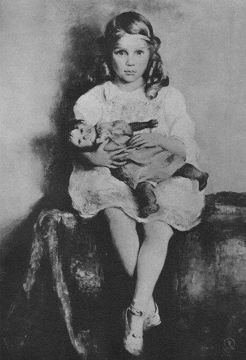 Таша в детстве.