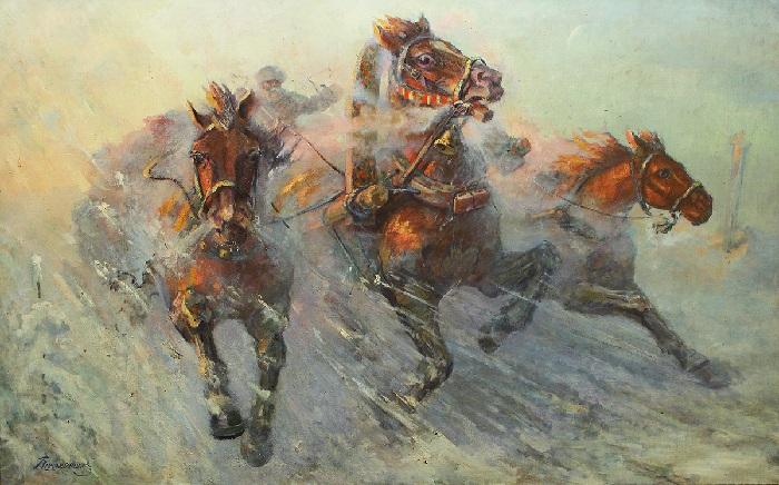 Тройка. Автор: В.С. Пшеничников.