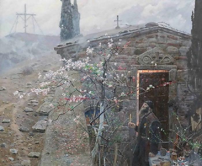 «Ранняя пасха». Автор: Рыженко П.В.