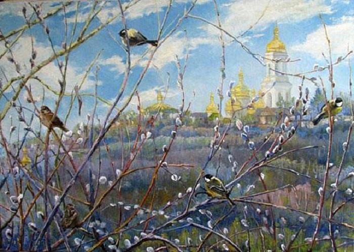 «Весна уже рядом». Автор: Варваров. А.В.