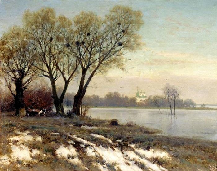 «Ранняя весна». Автор: Константин Крыжицкий.