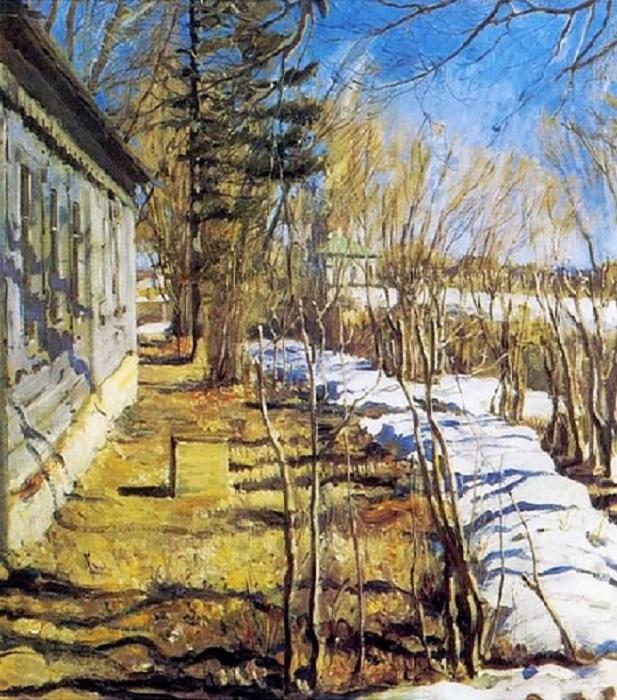 «Весна». (1911). Автор: С. А. Виноградов.