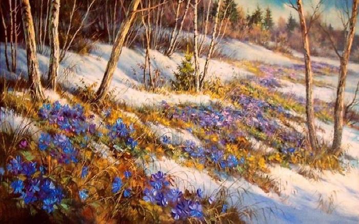 «Весенний первоцвет».