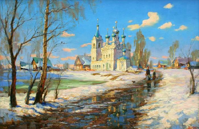 «Весна. Жестылево». Степан Нестерчук.
