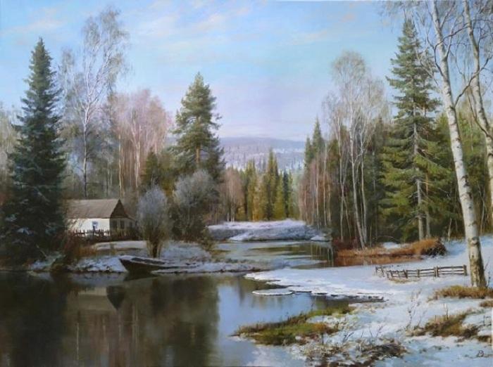 «Весна». Автор: Зайцев Виталий Геннадьевич.