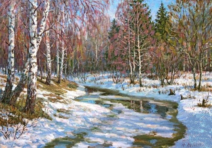 «Весна в лесу». Автор: Мельков Юрий.