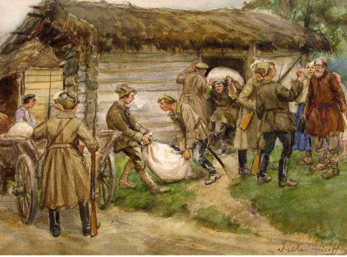 Продразверстка (реквизиция). Автор: Иван Владимиров.