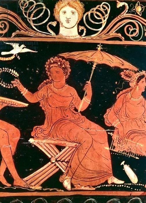 Античная вазопись.