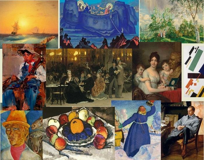 Самые дорогие картины русских художников.