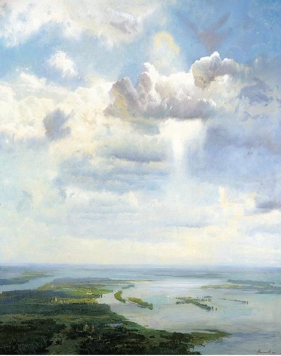 «Небо Святой Руси». Автор: Александр Афонин.