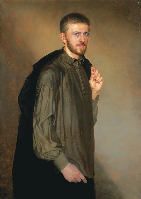 Портрет Александра Афонина. Автор: Сайда Афонина.