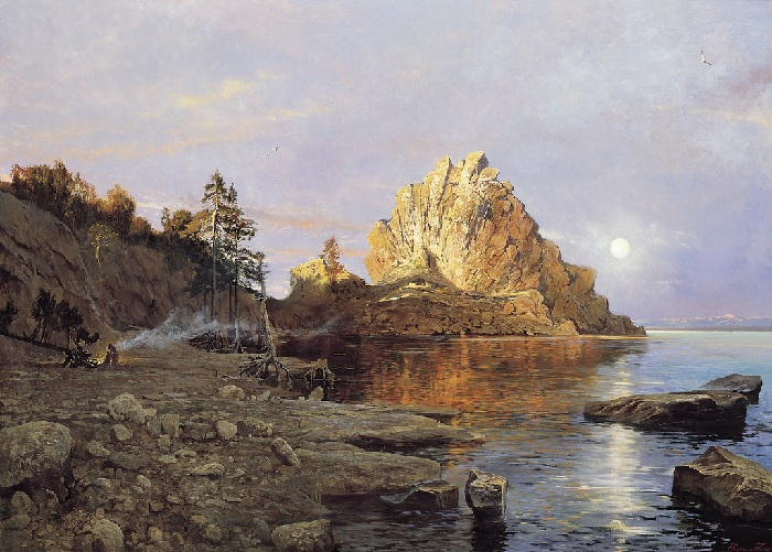 «Гребень ЧингисÑана. Озеро Байкал». Автор: Александр Афонин.