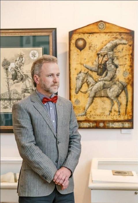 Олег Денисенко - художник-график, скульптор со Львова. | Фото: cameralabs.org.