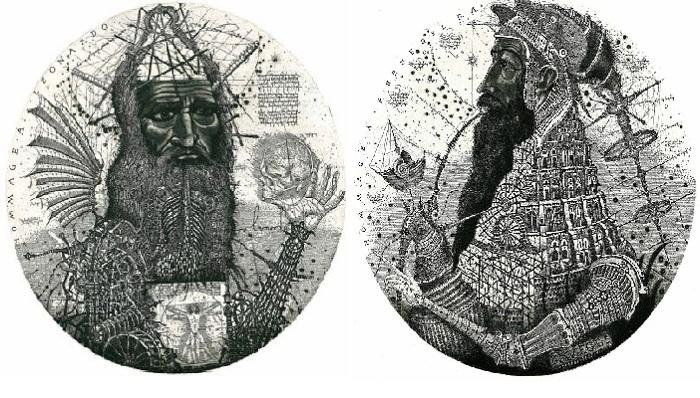Графика Олега Денисенко.