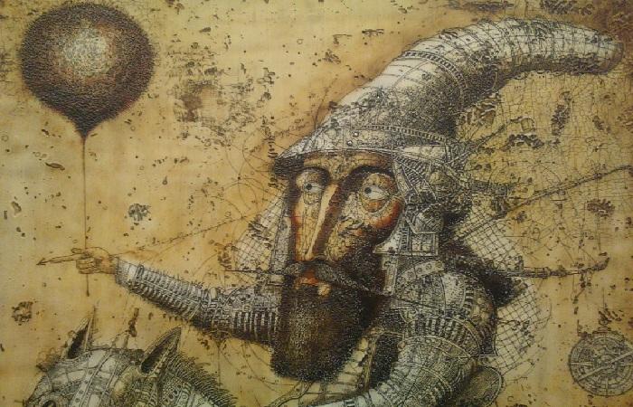 «Равновесие». Фрагмент. Автор: Олег Денисенко.