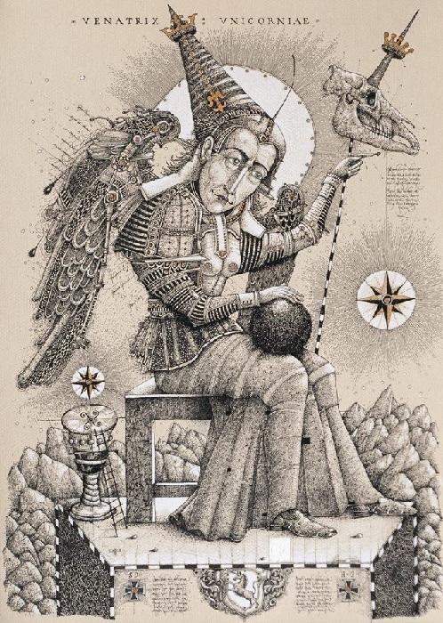 «Охота на единорога». Автор: Олег Денисенко.