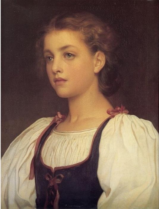 «Блондинка» (1879 год). Автор: Лейтон Фредерик.