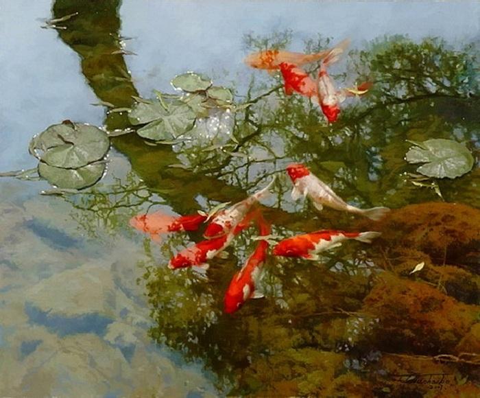 Из серии «FROLICKING IN THE WATER». Автор: Tian Haibo.