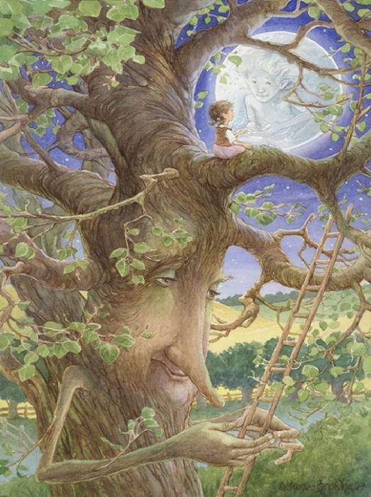 Иллюстрации от Джеймса Брауна.