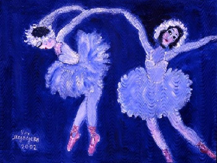 Наивная живопись от Кати Медведевой.