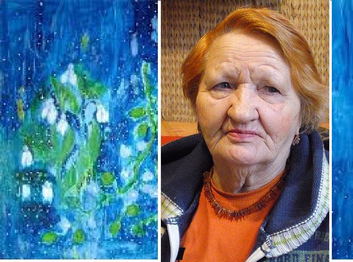 Художница наивной живописи - Катя  Медведева.