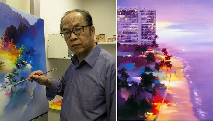 Кен Хонг Леунг - современный художник неоимпрессионист.