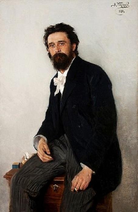 Портрет Сергея Коровина. Автор: В. Е. Маковского