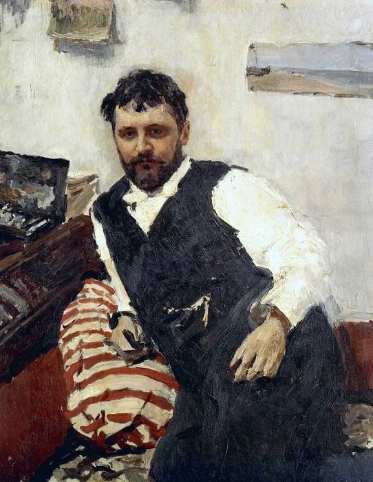 Портрет Константина Коровина. (1891). Автор: Валентин Серов.