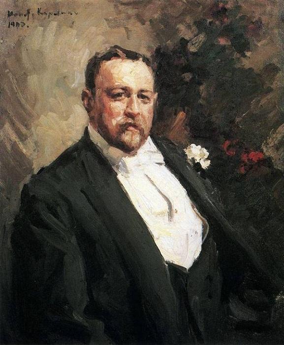 Иван Абрамович Морозов. Автор: Константин Коровин.