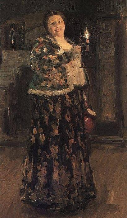 Хозяйка. 1896. Автор: Константин Коровин.